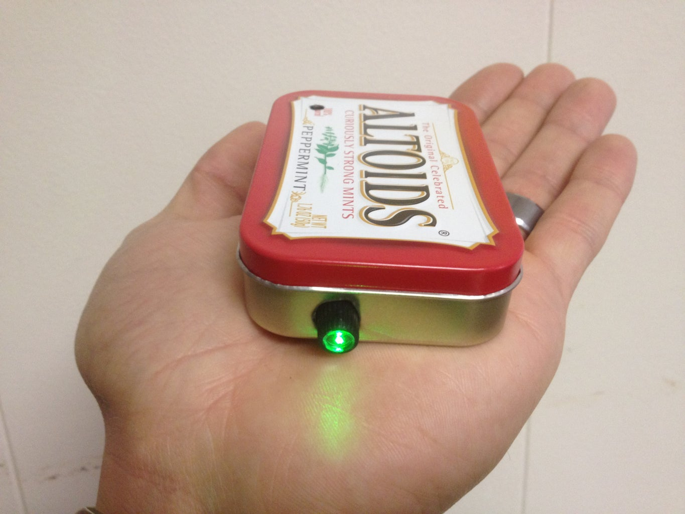 MintyBeam: Bug a Room and Transmit Voice Over a Laser Beam (also a Super Spy Ear/Stethoscope)