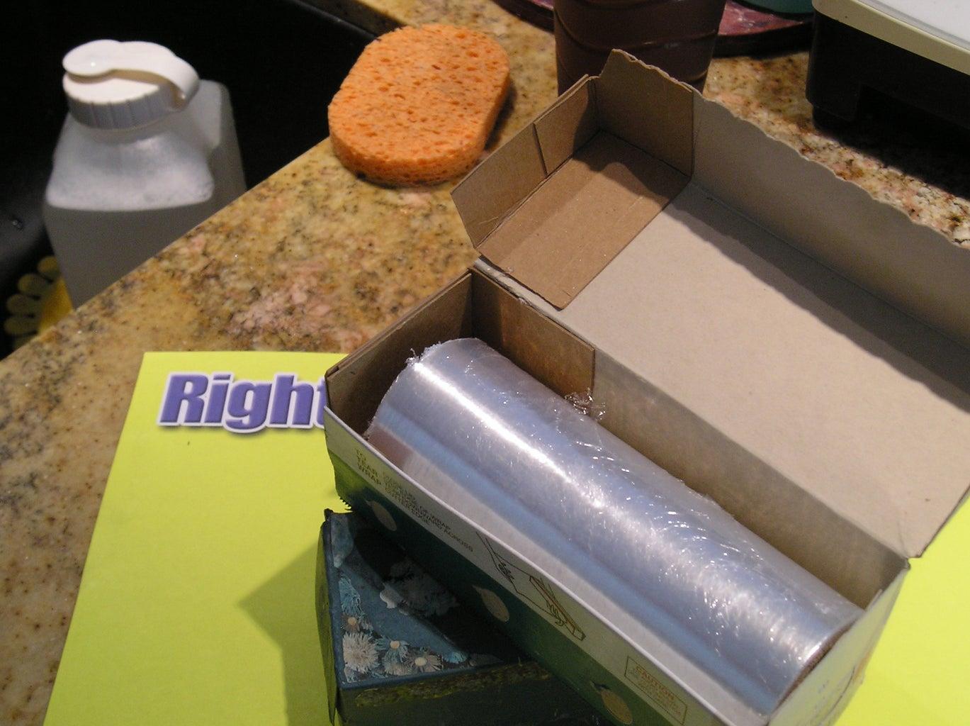 Glue Pieces Into Place