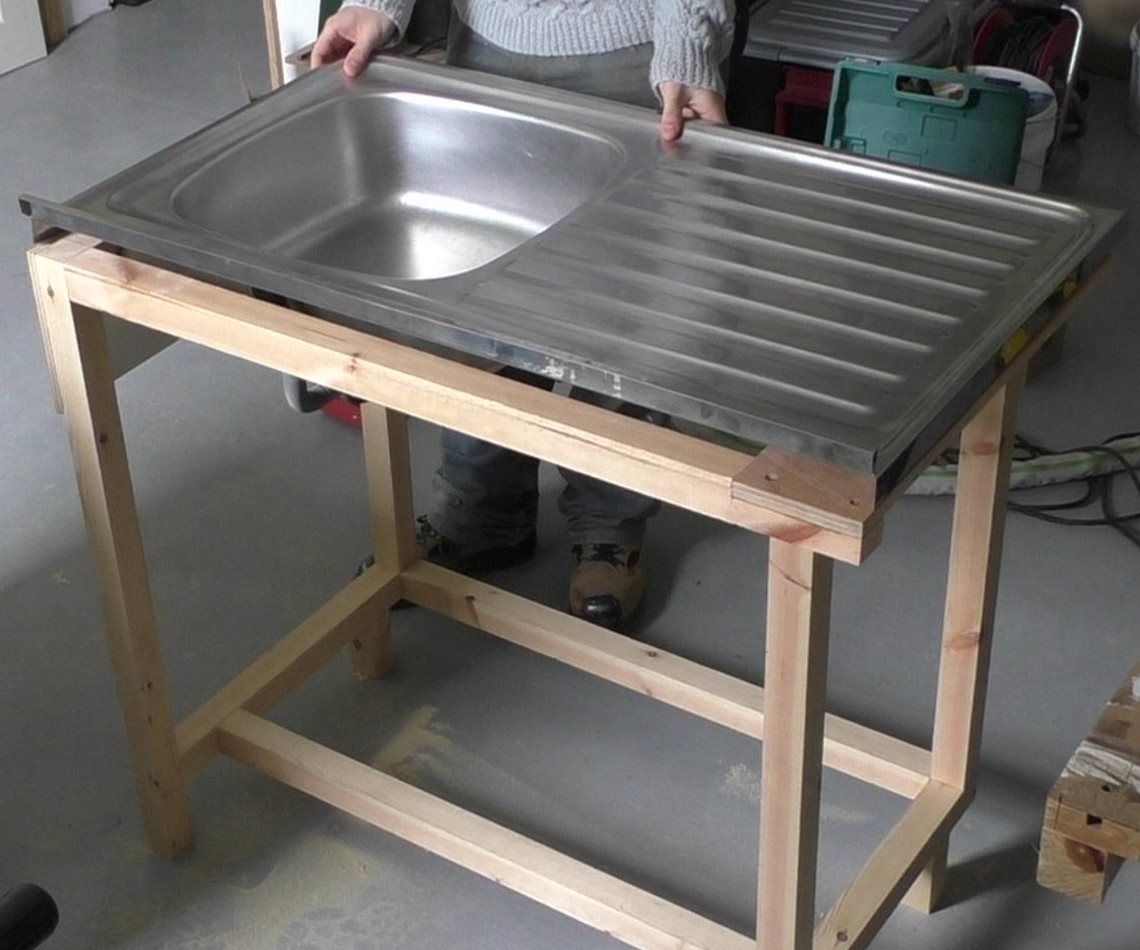 Custom Kitchen Sink Cabinet 9 Steps With Pictures Instructables