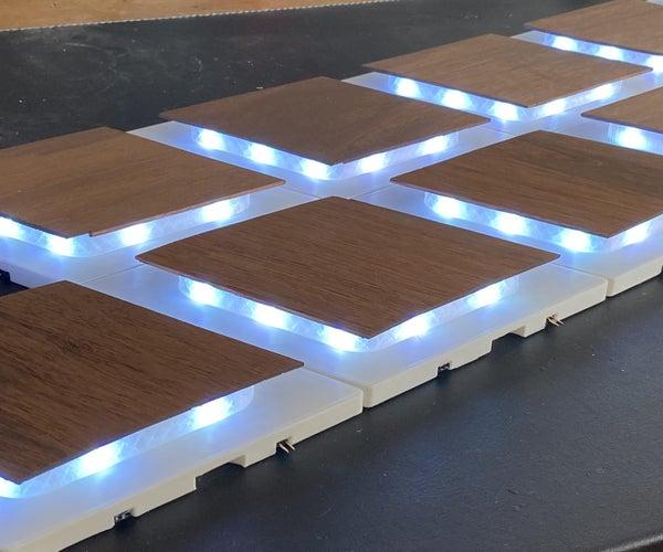 Modular Wall Lighting Panels