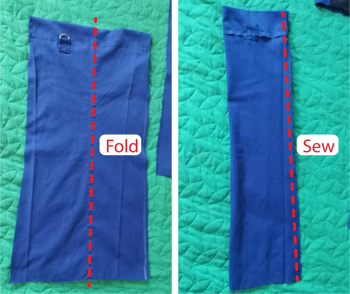 Sewing One Side