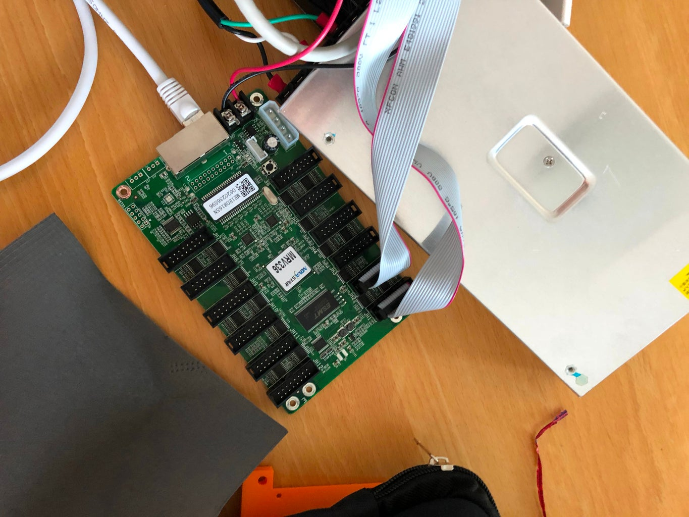 Configuring the Receiver Card and Sender