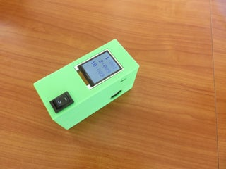 Arduino-controlled Particulate Air Sensor