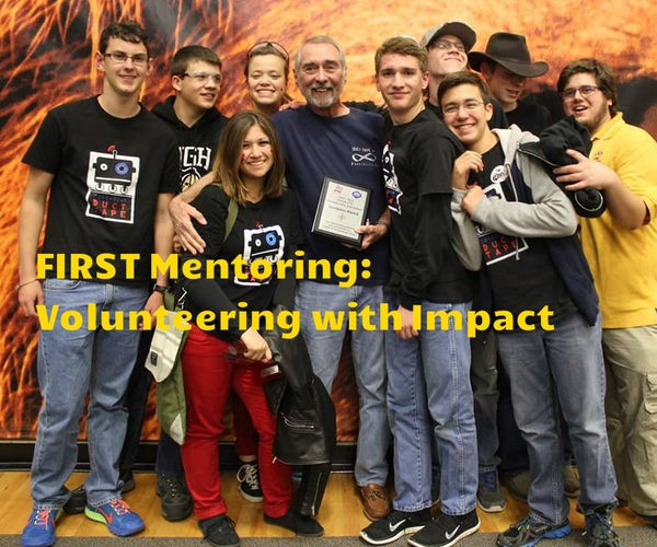 FIRST Mentoring: Volunteering With Impact