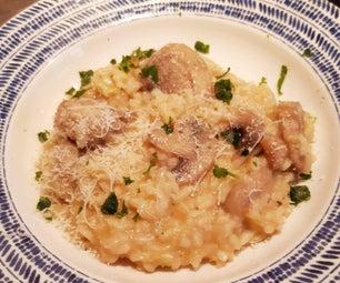 米其林出演了意大利煨饭