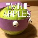 DIY APPLE TMNT (HEALTHY KIDS SNACK!!)