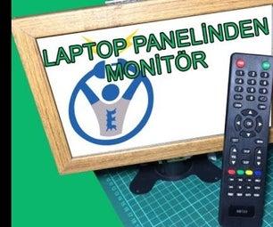 Multi-Purpose Monitor Making From Laptop Panel