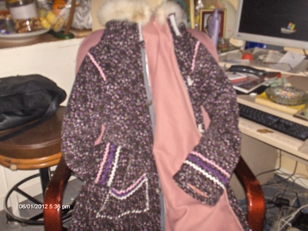 Northern Metis Woodlands Style Parka