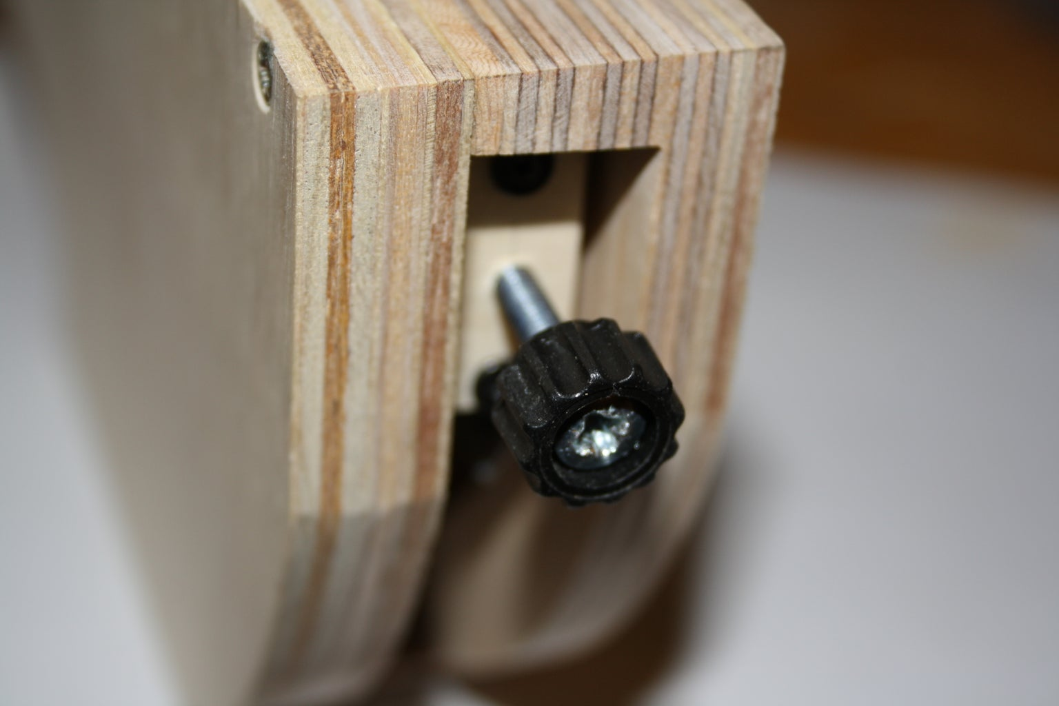 The Cutting Blade Assembly Adjustment Knob.
