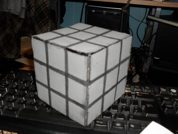 Cardboard Props: 3D Dice / Rubix Cube / Music Box