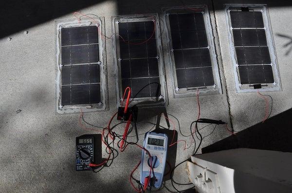 DIY 30W Portable Solar Panels Under $50