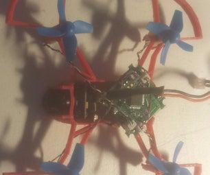 Custom Built 3D Printed Quad-copter