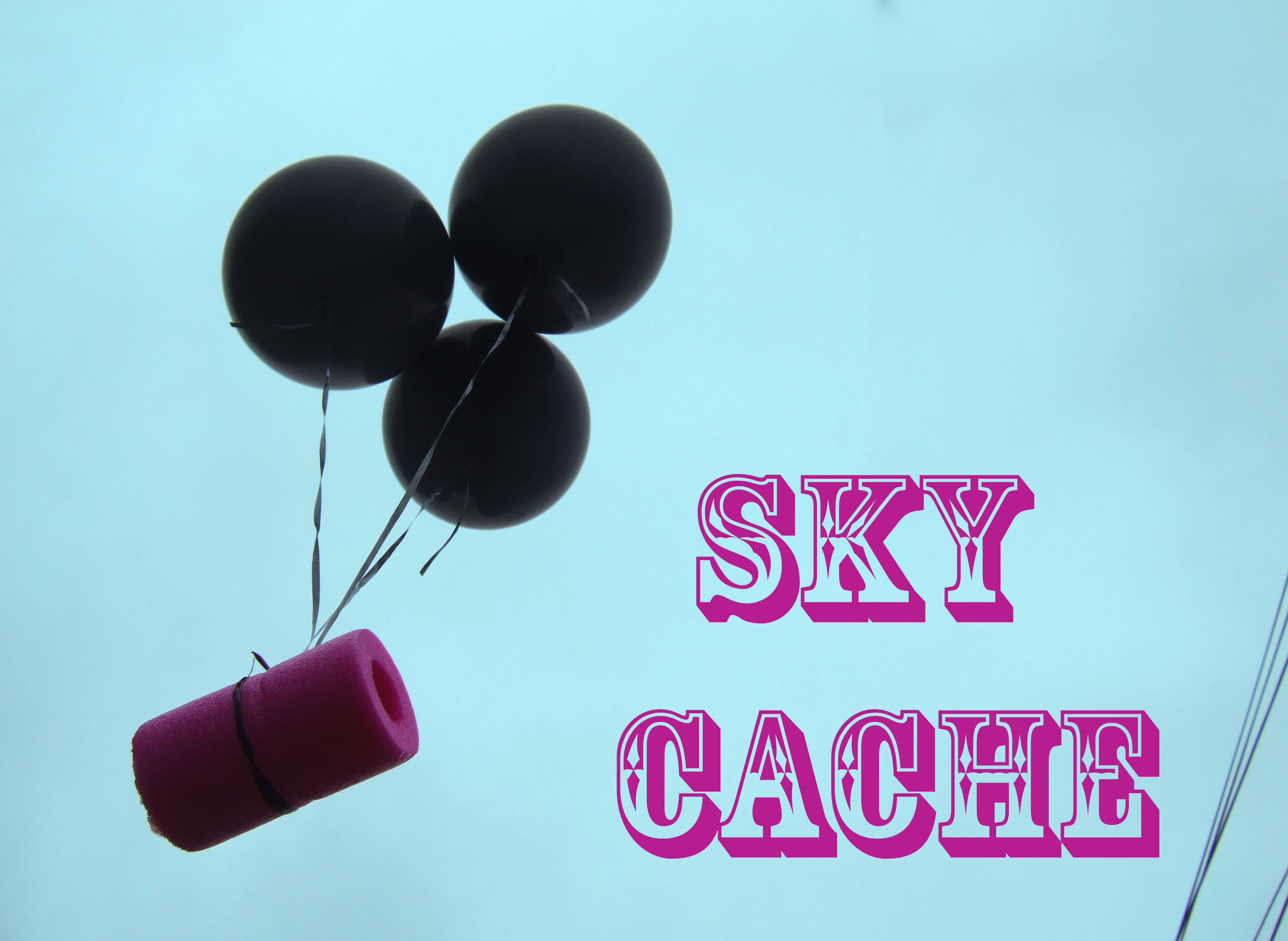 SKY CACHE: Mobile Aerial Geocache
