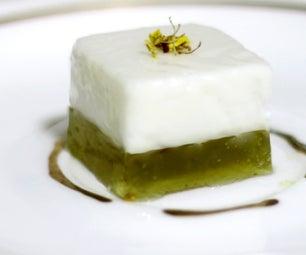 Coconut Jelly Dessert Recipe: Osmanthus Coconut Pudding