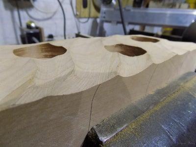 Step 3: Prepare Your Anglegrinder and Shape,shape,shape...