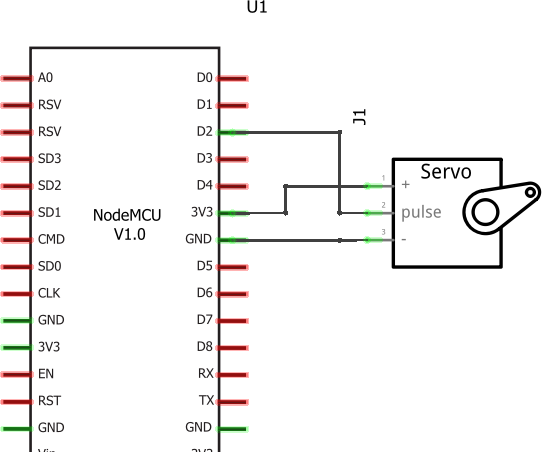 Servo Control With NodeMCU and Blynk | in IOT Platform