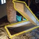 Insulated Attic Hatch