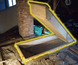 Insulated Attic Hatch