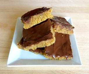 Chocolate Covered Peanut Butter Honey Bars