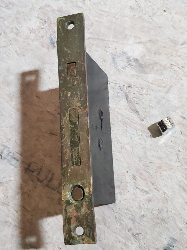 Locking Mechanism for Pocket Door