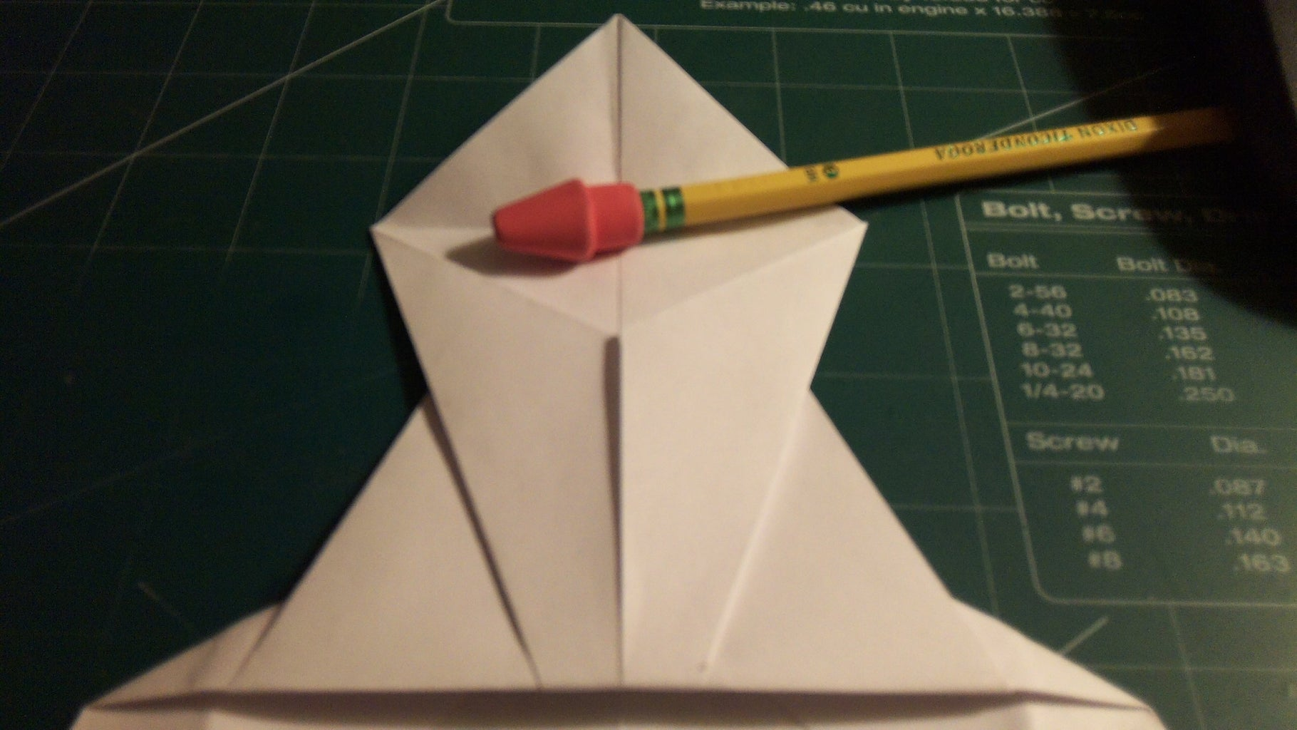 Fourth and Nose Folding