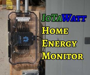 Installing an IoTaWatt Home Energy Monitor
