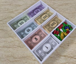Monopoly Bankers Tray