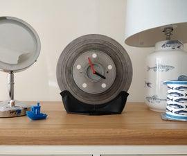 Brake Disc Clock