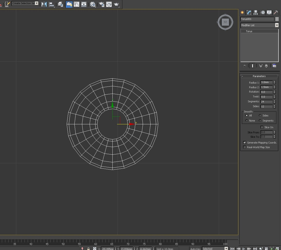 3d Modeling: Creating the Basic Pattern - Shapes & Symmetry