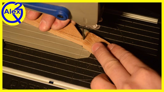 Cutting Out the Handle Scales