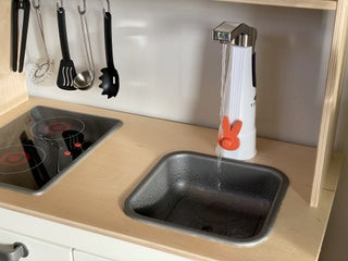 IKEA Play Kitchen W/ Working Sink   Instructables