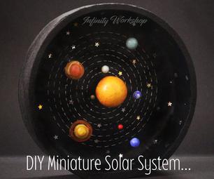 DIY微型太阳系......