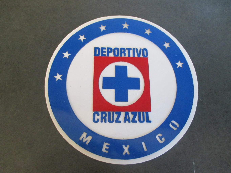 Metal Cruz Azul Emblem