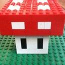 Lego Mario mushroom