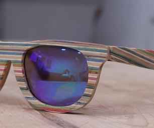 Wooden Veneer Sunglasses