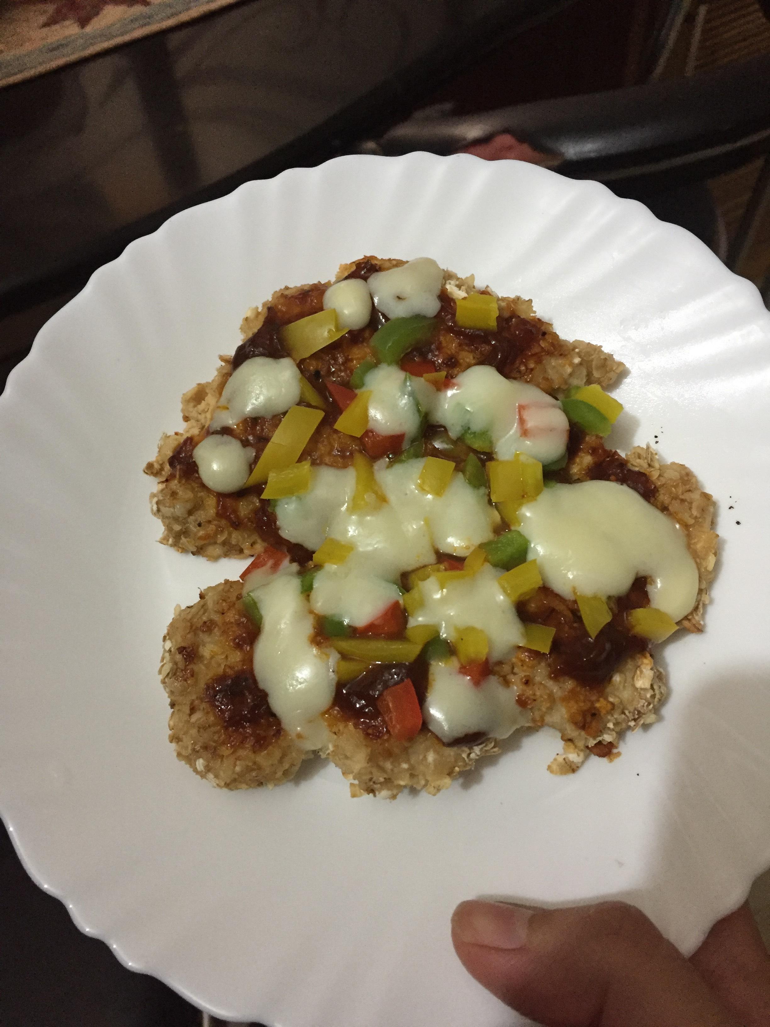 Healthy Chicken Pizza (chizza)