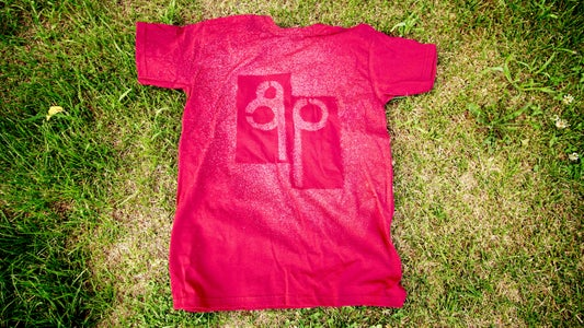 T-Shirt Logo Using Bleach
