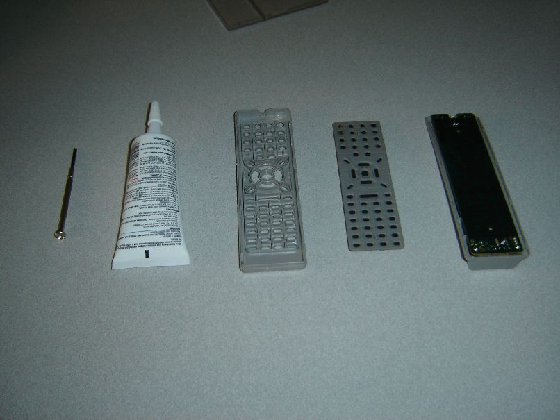 Fix TV remote control buttons