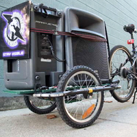 Bike Party Trailer