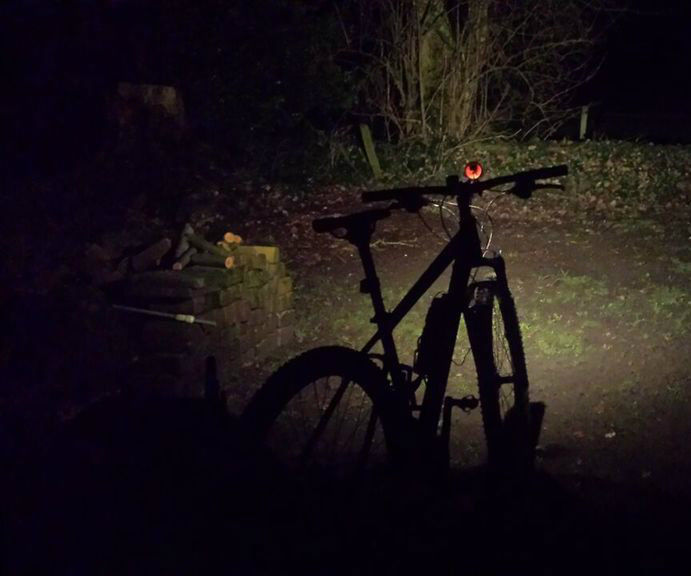 Cheap mtb led front light