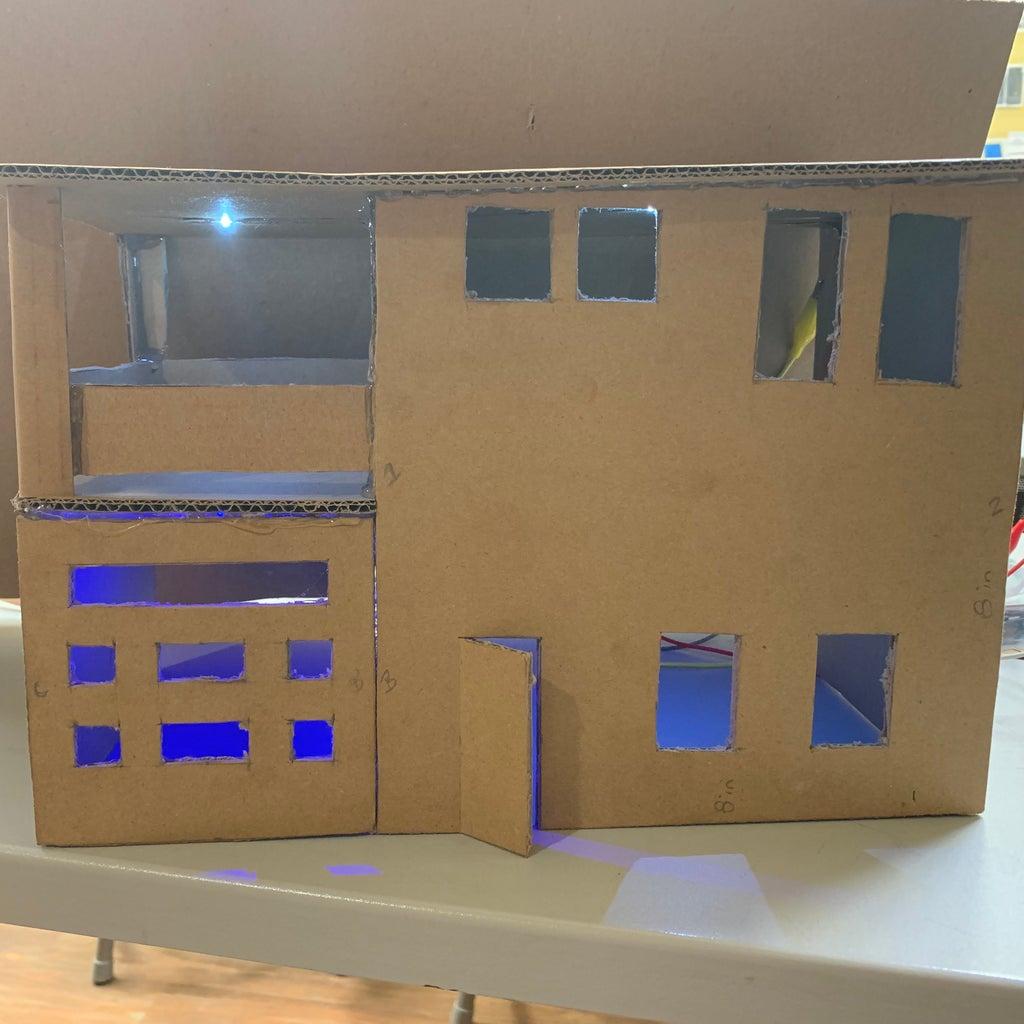 Makey Makey/ Chibitronics Light-up Houses