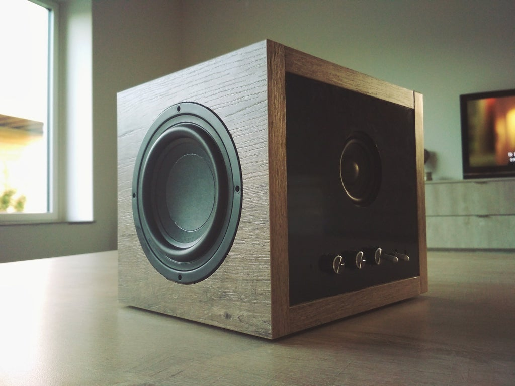 Easy Bluetooth Subwoofer Speaker (8W) : 8 Steps (with Pictures
