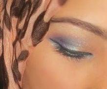 Lavender Inspired Eye Makeup