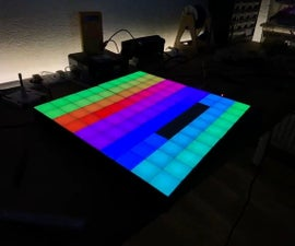 10x10 RGB Matrix (3D-Printed) With Adalight Protocol
