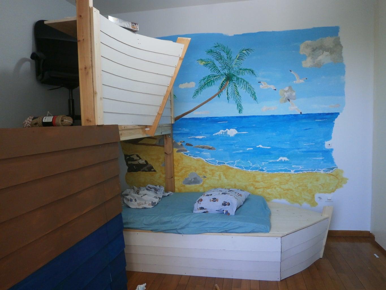 Ahoy Boat Bed