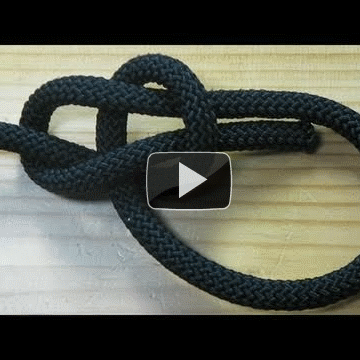 How to Tie the Most Useful Knot in the World (Bowline) [HD Video Tutorial]