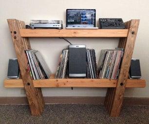 Record & Stereo Shelves