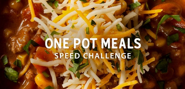 One Pot Meals Speed Challenge