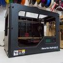Imprimindo 3D com a Makerbot Rep 2