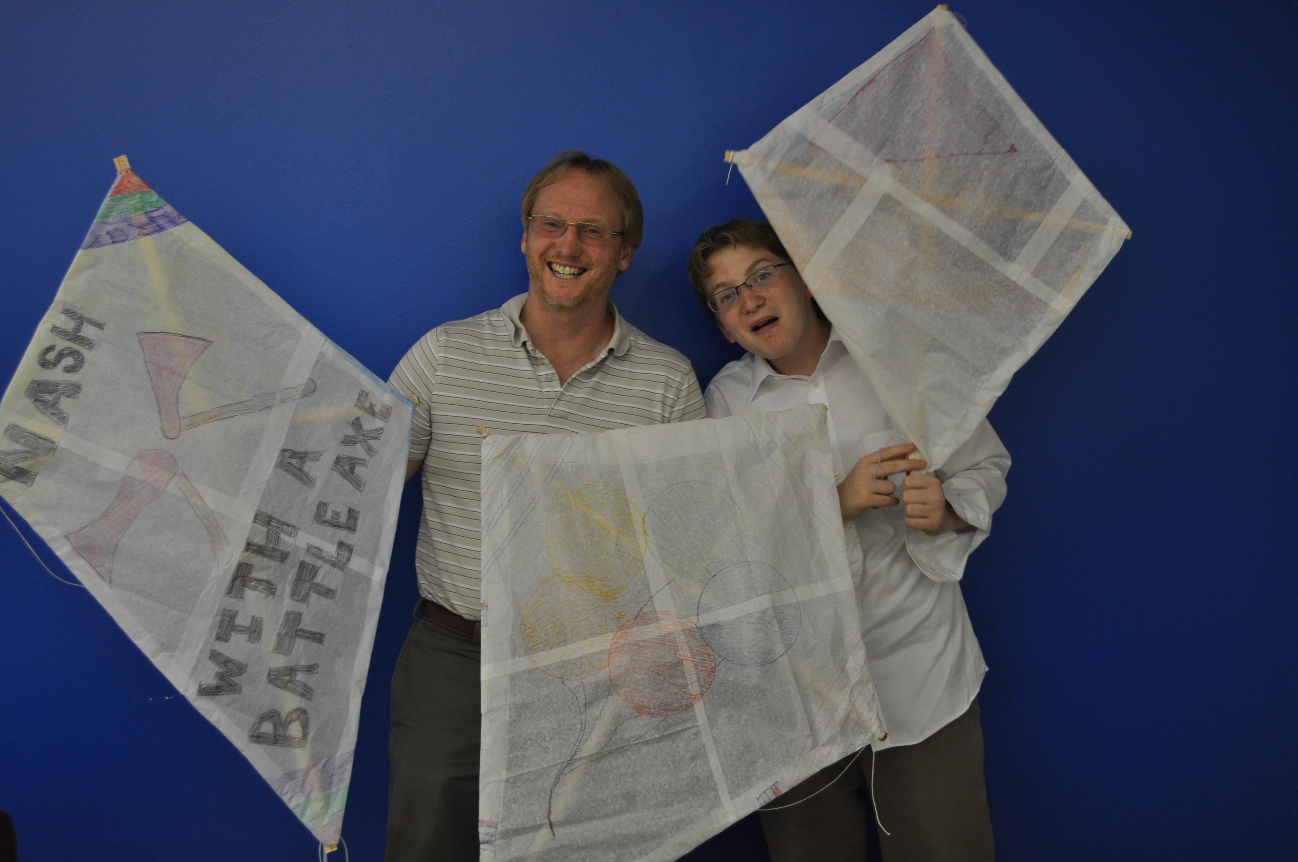 DIY Paper Kites
